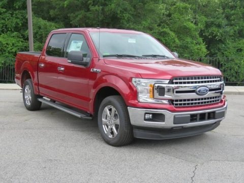 Ruby Red 2018 Ford F150 XLT SuperCrew