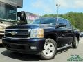 Chevrolet Silverado 1500 LTZ Crew Cab 4x4 Blue Granite Metallic photo #1