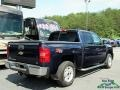 Chevrolet Silverado 1500 LTZ Crew Cab 4x4 Blue Granite Metallic photo #5