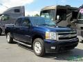 Chevrolet Silverado 1500 LTZ Crew Cab 4x4 Blue Granite Metallic photo #7