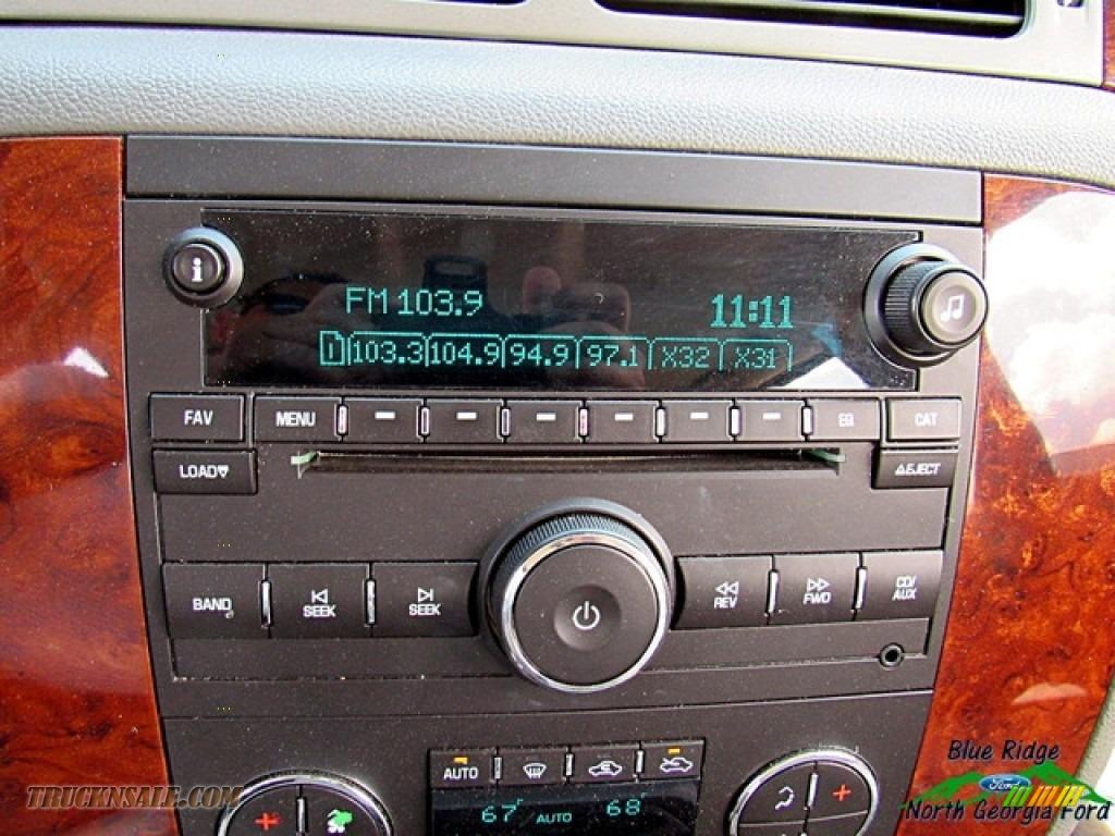 2009 Silverado 1500 LTZ Crew Cab 4x4 - Blue Granite Metallic / Light Titanium photo #16