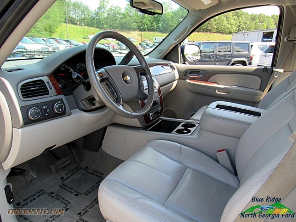 2009 Silverado 1500 LTZ Crew Cab 4x4 - Blue Granite Metallic / Light Titanium photo #29