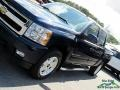 Chevrolet Silverado 1500 LTZ Crew Cab 4x4 Blue Granite Metallic photo #32