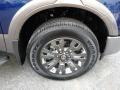 Nissan Titan Platinum Reserve Crew Cab 4x4 Deep Blue Pearl photo #2