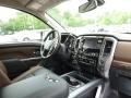 Nissan Titan Platinum Reserve Crew Cab 4x4 Deep Blue Pearl photo #11