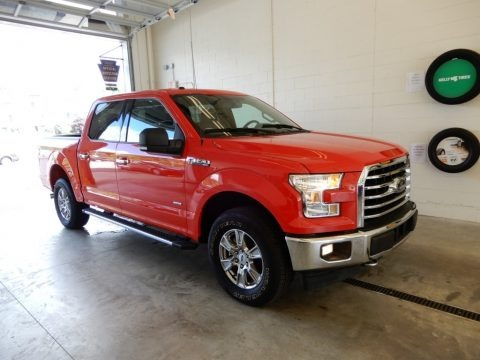 Race Red 2017 Ford F150 XLT SuperCrew 4x4