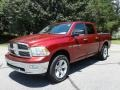 Dodge Ram 1500 Big Horn Crew Cab 4x4 Deep Cherry Red Crystal Pearl photo #2