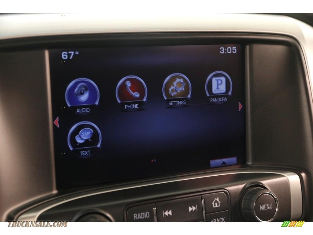 2015 Sierra 1500 SLT Double Cab 4x4 - Onyx Black / Jet Black photo #12