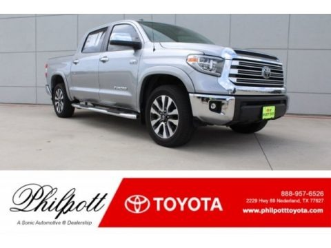 Silver Sky Metallic 2018 Toyota Tundra Limited CrewMax