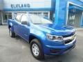 Chevrolet Colorado WT Crew Cab 4x4 Kinetic Blue Metallic photo #3