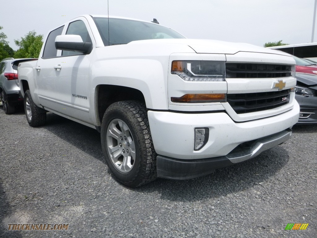 2016 Silverado 1500 LT Crew Cab 4x4 - Summit White / Jet Black photo #1