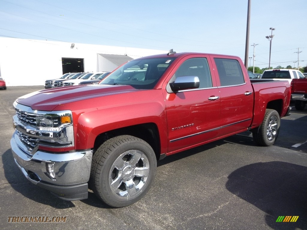 2018 Silverado 1500 LTZ Crew Cab 4x4 - Cajun Red Tintcoat / Jet Black photo #1