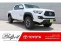 Toyota Tacoma TRD Off Road Double Cab 4x4 Super White photo #1