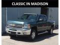 Chevrolet Silverado 1500 LT Extended Cab 4x4 Blue Granite Metallic photo #1