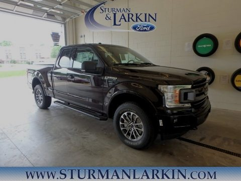 Magma Red 2018 Ford F150 XLT SuperCab 4x4