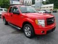 Ford F150 STX SuperCab Race Red photo #12