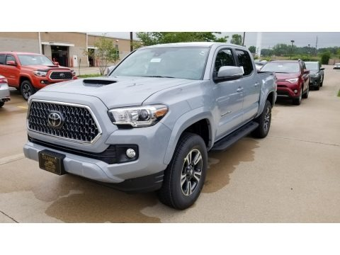 Cement 2018 Toyota Tacoma TRD Sport Double Cab 4x4