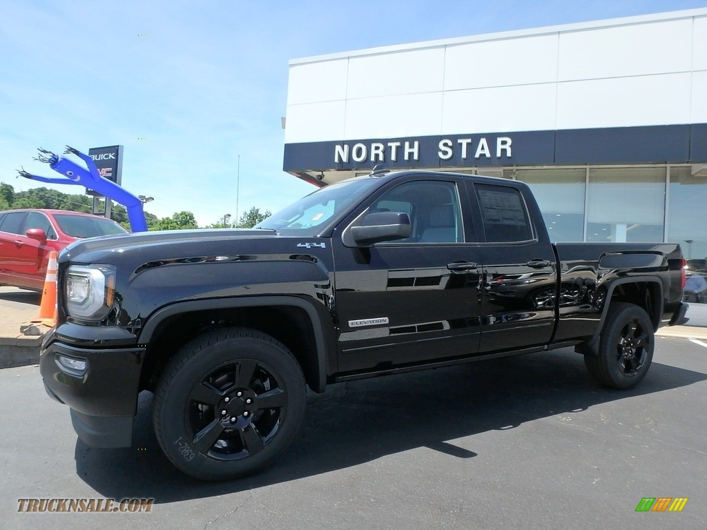 Onyx Black / Dark Ash/Jet Black GMC Sierra 1500 Elevation Double Cab 4WD