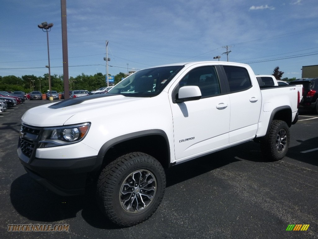 2018 Colorado ZR2 Crew Cab 4x4 - Summit White / Jet Black photo #1