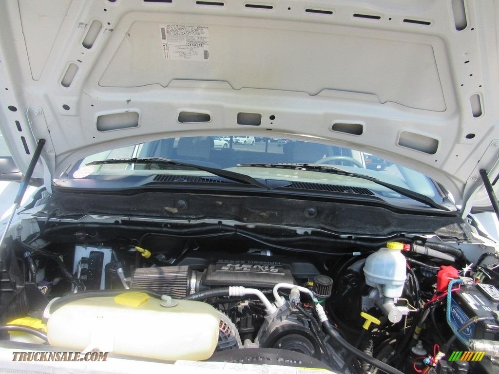 2004 Ram 2500 ST Quad Cab 4x4 - Bright White / Taupe photo #36