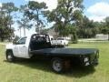 Chevrolet Silverado 3500HD Work Truck Regular Cab 4x4 Stake Truck Summit White photo #3