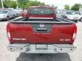 Nissan Frontier SV King Cab 4x4 Cayenne Red photo #5