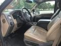 Ford F350 Super Duty Lariat Crew Cab 4x4 Golden Bronze Metallic photo #6