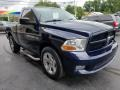 Dodge Ram 1500 ST Regular Cab 4x4 True Blue Pearl photo #5