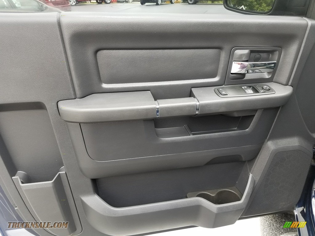 2012 Ram 1500 ST Regular Cab 4x4 - True Blue Pearl / Dark Slate Gray/Medium Graystone photo #7