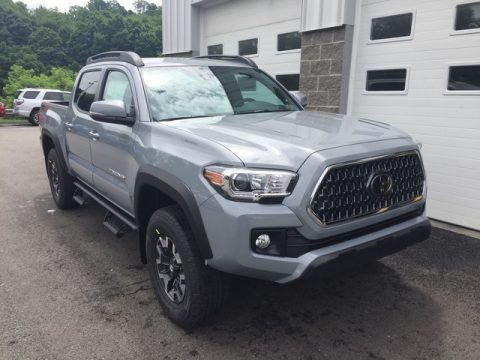 Silver Sky Metallic 2018 Toyota Tacoma TRD Off Road Double Cab 4x4