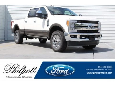 Oxford White 2018 Ford F250 Super Duty King Ranch Crew Cab 4x4