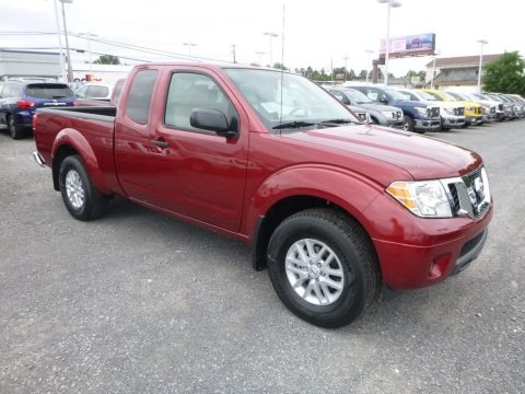 Cayenne Red 2018 Nissan Frontier SV King Cab 4x4