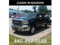 GMC Sierra 2500HD SLT Crew Cab 4WD Stone Blue Metallic photo #1