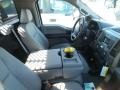 Ford F350 Super Duty XL Regular Cab 4x4 Dump Truck Oxford White photo #5