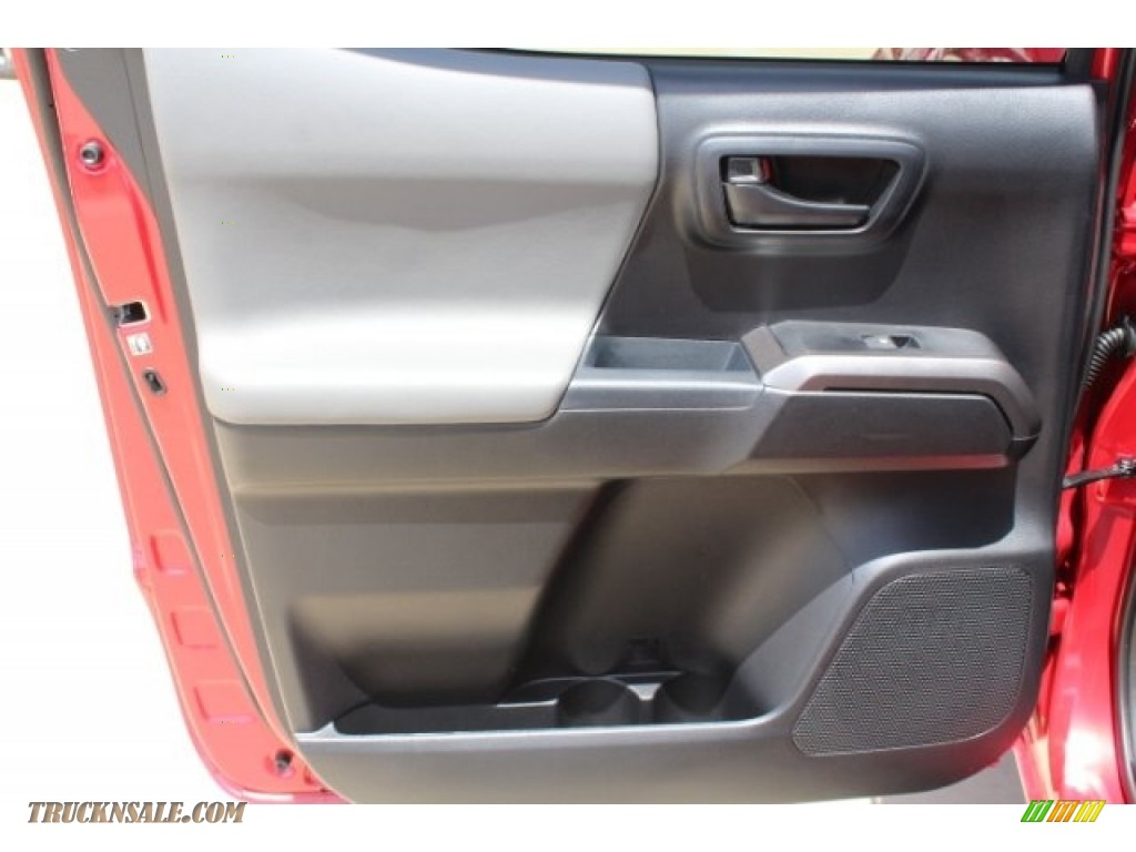 2018 Tacoma SR5 Double Cab - Barcelona Red Metallic / Cement Gray photo #21