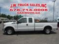 Ford F250 Super Duty XLT Super Cab Oxford White photo #2