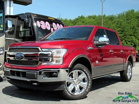 Ruby Red 2018 Ford F150 King Ranch SuperCrew 4x4