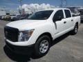 Nissan Titan S Crew Cab 4x4 Glacier White photo #8