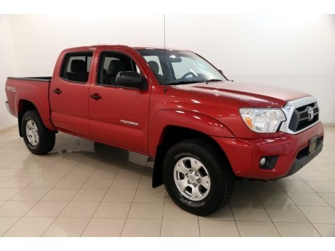 Barcelona Red Metallic 2015 Toyota Tacoma V6 Double Cab 4x4