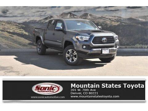 Magnetic Gray Metallic 2018 Toyota Tacoma TRD Sport Double Cab 4x4