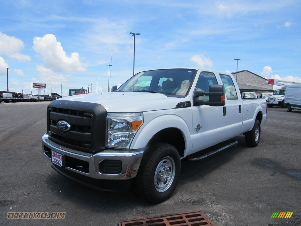 2012 F250 Super Duty XL Crew Cab 4x4 - Oxford White / Steel photo #1