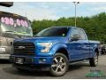Ford F150 XLT SuperCab 4x4 Blue Jeans photo #1