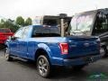 Ford F150 XLT SuperCab 4x4 Blue Jeans photo #3