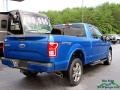 Ford F150 XLT SuperCab 4x4 Blue Jeans photo #5