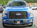 Ford F150 XLT SuperCab 4x4 Blue Jeans photo #8
