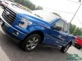 Ford F150 XLT SuperCab 4x4 Blue Jeans photo #34
