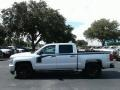 Chevrolet Silverado 1500 Custom Crew Cab 4x4 Silver Ice Metallic photo #2