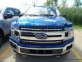 Ford F150 XLT SuperCrew 4x4 Lightning Blue photo #2