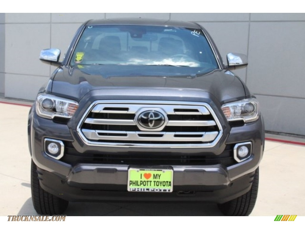 2018 Tacoma Limited Double Cab - Magnetic Gray Metallic / Hickory photo #2