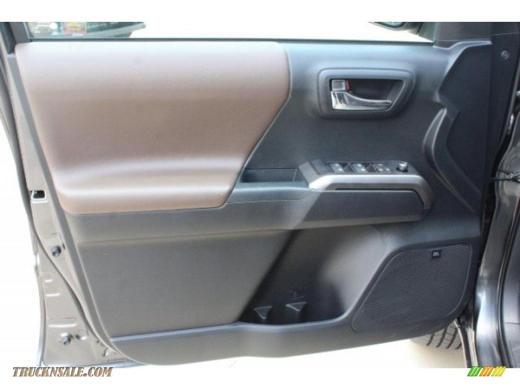 2018 Tacoma Limited Double Cab - Magnetic Gray Metallic / Hickory photo #12